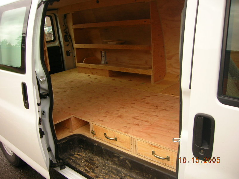 Dodge Cargo Van >> Wolf Industries, Inc. - Shelving - Photo Gallery