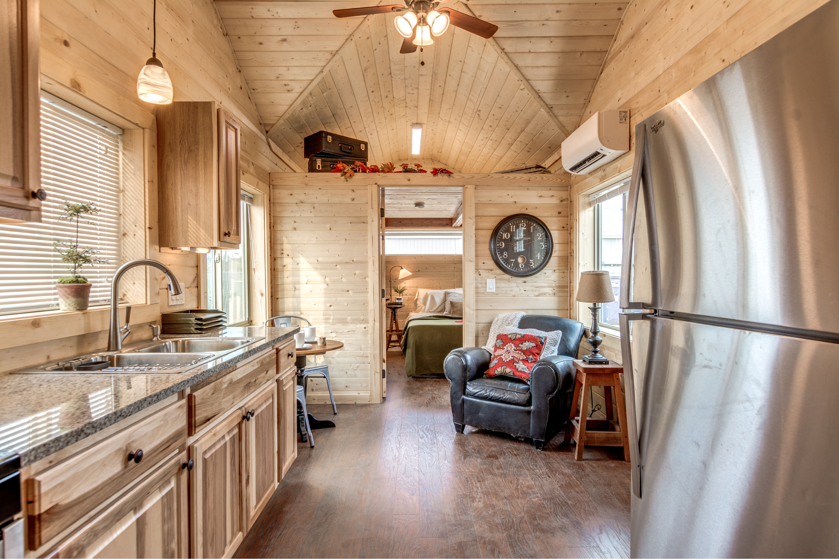 Sequim tiny home interior
